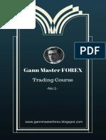 Gann Master FOREX Course 1