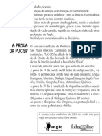 Anglo Resolve PUC-SP - 01 Português Matemática Física Química Biologia História Geografia