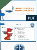 1 - Farmacocinética y Farmacodinámica