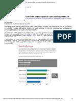 0k_CIO - Brasileiros Estão Seriamente Preocupados Com Dados Pessoais