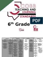 math 6 framework standards for 2016 17