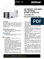 C32 Energy Container Spec Sheet