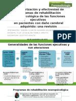 Rh.neuropsicologica Funciones Ejecutivas