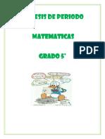SINTESIS MATEMATICAS 5º