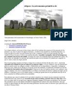 Rocas Para Predecir Eclipses La Astronomía Primitiva de Stonehenge