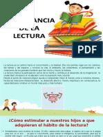 la importancia de la lectura y medios q inflyen en la educacion