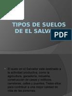 Tipos de Suelos de El Salvador
