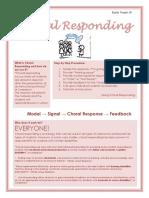 choral responding