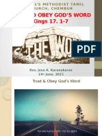 14062015 Trust Gods Word and Obey