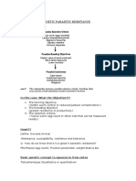 Breeding of Genetic Parasitic Resistance