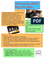 strategy fact sheet- pals