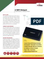 CradlePoint PHS300 DataSheet