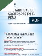 Contabilidad de Sociedades en Perú por Eduardo Contreras Campos