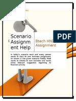 Scenario Assignment Help