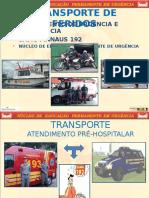 Transporte de Feridos. Infraero Ppt