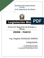 Legislacion Minera Documento