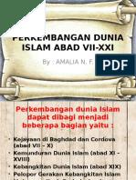 Perkembangan Dunia Islam Abad Vii-xxi
