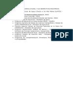 Programas de Desarrollo Rural y Sus Respectivos Ministerios