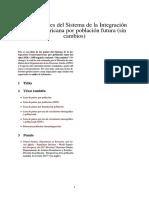 Anexo-Países Del Sistema de La Integración Centroamericana Por Población Futura (Sin Cambios)