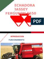 Cosechadora MF 5650