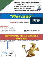 Unidad I - Gerencia y Administración de servicios II - Fernanda Pineda Gea - UNICA -  Introdución al  Mercado.pptx