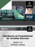 Distribución de Probabilidades en Variables Discretas