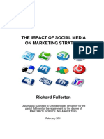 The Impact of Social Media on Marketing