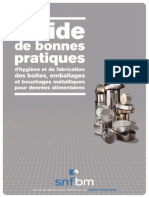 Guide Emballage Metallique