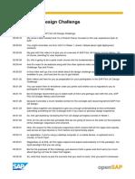 OpenSAP Fiori1 SAP Fiori UX Design Challenge Transcript