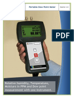 1 Portable Dew Point Meter