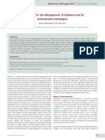 Resveratrol for the Management of Diabetes and Its Downstream Pathologies