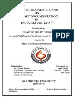 27008359 India Glycol Ltd Arpit Singh Final Report