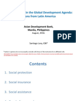 Social Protection in the Global Development Agenda - Lessons From Latin America (Santiago Levy, Vice President for Sectors and Knowledge, Inter-American Development Bank)