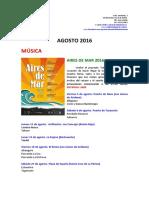 Agenda Agosto 2016 Cabildo