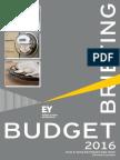 E & Y Budget Briefing 2016-17