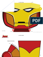 picture about Captain America Mask Printable referred to as DM Avenger Captain The usa Mask Printable 0910 FDCOM