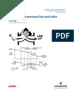 Handbook on Pressure Loss and Valve Sizing 500 700 CV Installation and Operating 3 9008 550