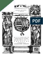 Altamira, Diccionario Palabras Juridicas, Legislacion Indiana 1951