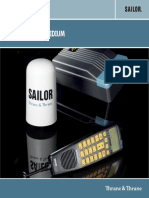 Data Sheet Iridium Accessori Manuale Tecnico Sailor SC4000