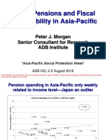 APSP - Session 9B_Peter Morgan_Aging Pensions & Fisc Sustainability