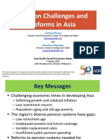 APSP - Session 9B_Ganesh Wignaraja_Pension Challenges and Reforms in Asia