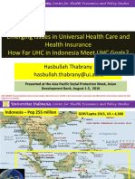 APSP - Session 10_Hasbullah Thabrany_Emerging Issues in UHC