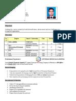 CV Faisal Ejaz