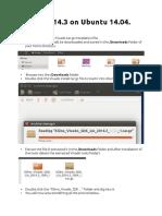 Install Vivado 2014.3 on Ubuntu 14.04