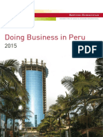 Doing Business in Peru 2015