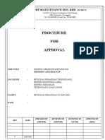 Generic Repair Procedure for Grinding and Build-up