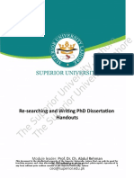 Thesis instruction guid