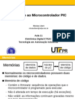 Introdução ao microcontrolador PIC