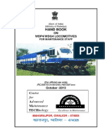 Handbook on WDP4 WDG4 Locomotives for Maintenance Staff