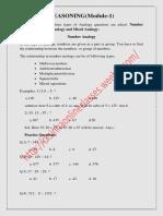 reasoning module-1